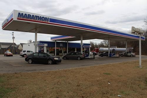 Marathon gas station in Florida