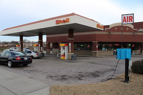 Shell gas station in Florida