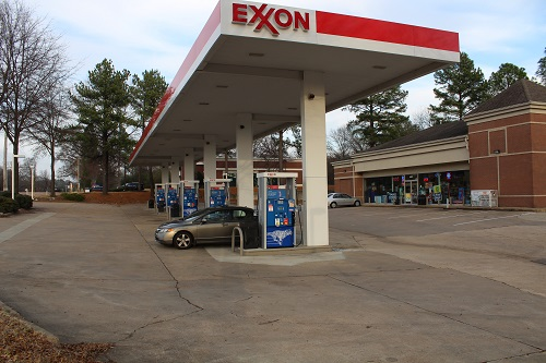 Exxon gas station TN