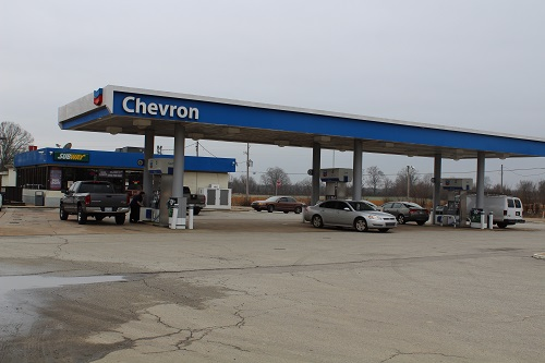 Chevron Gas station in Florida