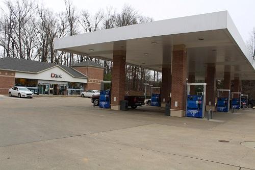 Gas station Memphis tn