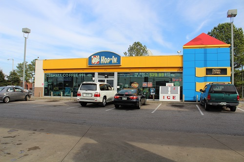 fast food restaurant in Memphis