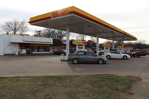 Shell gas station in Arkansas