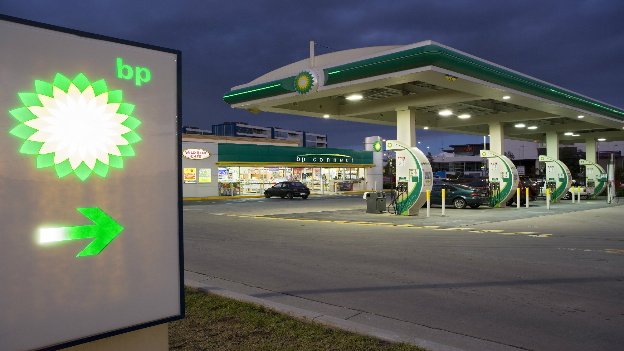 BP gas stations in Tennessee